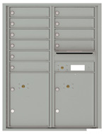 Florence 4C Mailboxes 4C11D-10 Silver Speck