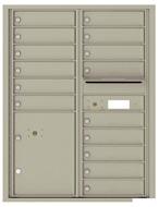 Florence 4C Mailboxes 4C11D-15 Postal Grey