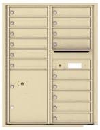 Florence 4C Mailboxes 4C11D-15 Sandstone