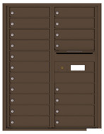Florence 4C Mailboxes 4C11D-19 Antique Bronze
