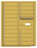 Florence 4C Mailboxes 4C11D-19 Gold Speck