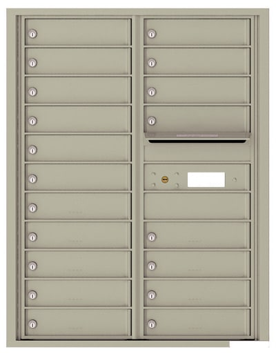 4C11D19 4C Horizontal Commercial Mailboxes