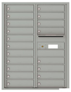 Florence 4C Mailboxes 4C11D-19 Silver Speck