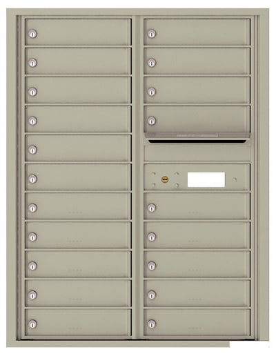 4C11D20 4C Horizontal Commercial Mailboxes