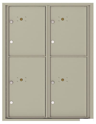 4C11D4P 4C Horizontal Commercial Mailboxes