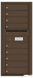 Florence 4C Mailboxes 4C11S-09 Antique Bronze