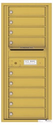 Florence 4C Mailboxes 4C11S-09 Gold Speck