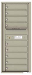Florence 4C Mailboxes 4C11S-09 Postal Grey