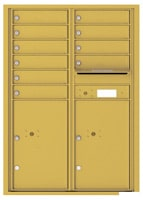 Florence 4C Mailboxes 4C12D-10 Gold Speck