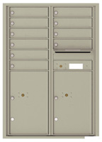 Florence 4C Mailboxes 4C12D-10 Postal Grey