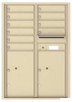 Florence 4C Mailboxes 4C12D-10 Sandstone