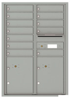 Florence 4C Mailboxes 4C12D-12 Silver Speck