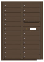 Florence 4C Mailboxes 4C12D-22 Antique Bronze