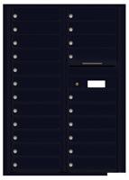 Florence 4C Mailboxes 4C12D-22 Black
