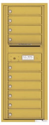 Florence 4C Mailboxes 4C12S-10 Gold Speck