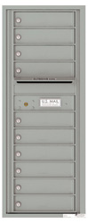Florence 4C Mailboxes 4C12S-10 Silver Speck