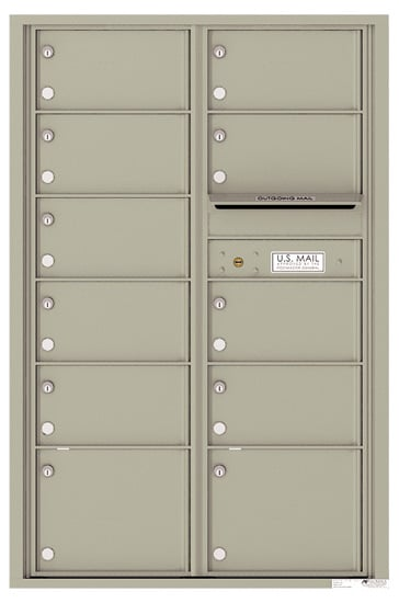 4C13D11 4C Horizontal Commercial Mailboxes