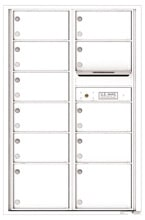 Florence 4C Mailboxes 4C13D-11 White
