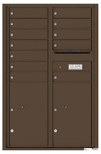 Florence 4C Mailboxes 4C13D-12 Antique Bronze