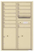 Florence 4C Mailboxes 4C13D-12 Sandstone