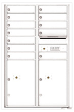 Florence 4C Mailboxes 4C13D-12 White