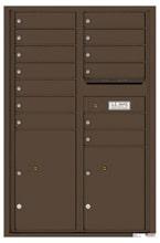 Florence 4C Mailboxes 4C13D-13 Antique Bronze