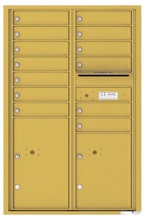 Florence 4C Mailboxes 4C13D-13 Gold Speck