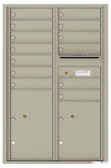 4C13D13 4C Horizontal Commercial Mailboxes