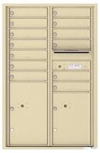 Florence 4C Mailboxes 4C13D-13 Sandstone