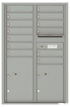 Florence 4C Mailboxes 4C13D-13 Silver Speck