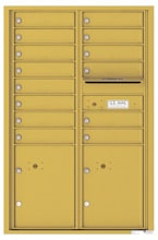 Florence 4C Mailboxes 4C13D-14 Gold Speck