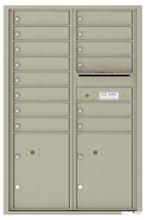 Florence 4C Mailboxes 4C13D-14 Postal Grey