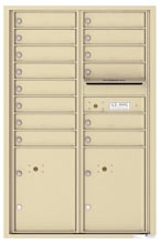 Florence 4C Mailboxes 4C13D-14 Sandstone