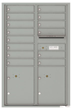 Florence 4C Mailboxes 4C13D-14 Silver Speck
