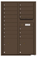 Florence 4C Mailboxes 4C13D-16 Antique Bronze