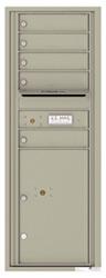 Florence 4C Mailboxes 4C13S-05 Postal Grey