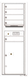 Florence 4C Mailboxes 4C13S-05 White