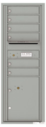 Florence 4C Mailboxes 4C13S-06 Silver Speck