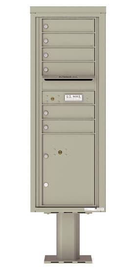 4C13S06-P Commercial 4C Pedestal Mailboxes
