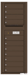 Florence 4C Mailboxes 4C13S-11 Antique Bronze