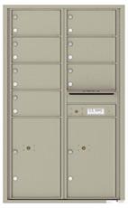 Florence 4C Mailboxes 4C14D-07 Postal Grey