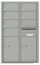 Florence 4C Mailboxes 4C14D-07 Silver Speck
