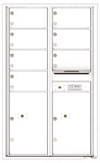 Florence 4C Mailboxes 4C14D-07 White