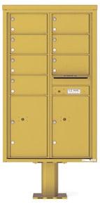 Florence 4C Pedestal 4C14D-07-P Gold Speck
