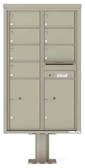 4C14D07-P Commercial 4C Pedestal Mailboxes