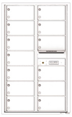 Florence 4C Mailboxes 4C14D-13 White