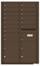 Florence 4C Mailboxes 4C14D-16 Antique Bronze