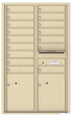 Florence 4C Mailboxes 4C14D-16 Sandstone