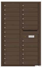 Florence 4C Mailboxes 4C14D-26 Antique Bronze