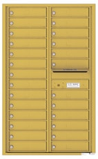 Florence 4C Mailboxes 4C14D-26 Gold Speck